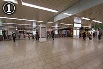 近鉄「大阪阿部野橋駅」 東口改札