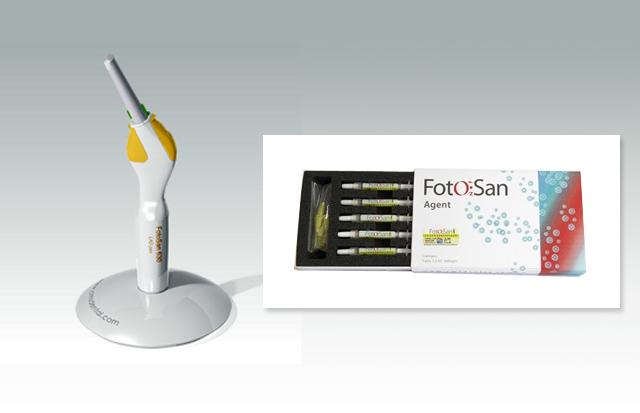 光殺菌治療機器
