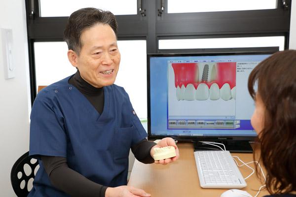 佐々木歯科のインプラントイメージ