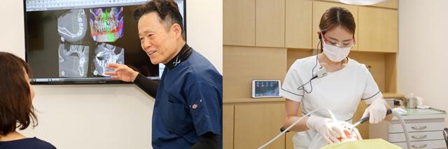 阿倍野、天王寺の歯医者、佐々木歯科の診療方針イメージ